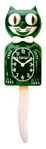 Game Day Green Kit-Cat Clock